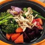 ちょいベジ - 要予約の温野菜