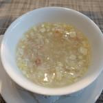84712388 - 海鮮と豆腐のとろみスープ