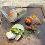 熱香森 - 前菜三種盛り合わせ