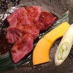 焼肉匠 満炎 - ミスジタレ 1,800円