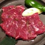 焼肉匠 満炎 - 特選ハラミネギ塩タレ 1,380円