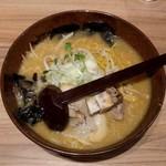 白樺山荘 - 味噌ラーメン(850円)