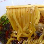 清麺屋 - ポンバシブラック(750円)