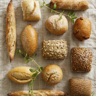 指定のコースはパン・フライドポテトがお代わり自由♪
