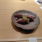 84716075 - 富山湾の蛍烏賊、木の芽味噌