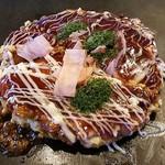 お好み亭 - 料理写真:お好み焼き・ぶた玉(610円+税)