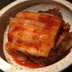 焼肉匠 満炎 - 白菜キムチ 580円