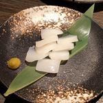 焼肉匠 満炎 - モンゴウイカ柚子胡椒焼き 720円