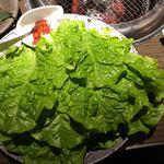 焼肉匠 満炎 - サンチュ 450円×4