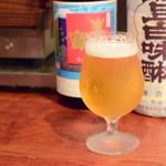 日本酒はなたれ - エーデルピルス@600円