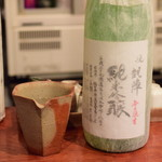日本酒はなたれ - 悦凱陣 純米吟醸(1合)@1,000円