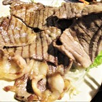 84719176 - 国産牛 上リブロース 塩焼き定食 2枚(約100g~120g×2)1,850円(税込)。      2018.04.24
