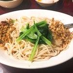 84720989 - 汁なし坦々麺 (混ぜる前)