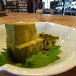 そば 吉里吉里 - 牡蠣豆腐