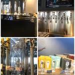 スプリングバレーブルワリー東京 - 店内はビール工場