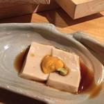 割烹バル 京ひろ - ゴマ豆腐
