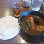 スープカリー クフウ - 料理写真:チキンカリー 2018.4月