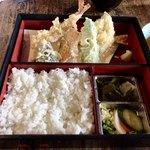 上の家 鶴岡 - 日替わりランチ火曜 天ぷら定食