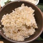 84728395 - 玄米ご飯を選択しました