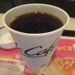 マクドナルド - コーヒー何故か量多め(2018.3.11)