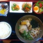 麺処 十 - ラーメン定食