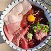 Newazashokudoushimewazaippommagurodoujou - 料理写真:トロとろとろ丼
