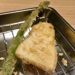 博多天ぷら たかお - 上たかお定食(アスパラ&筍)