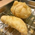 博多天ぷら たかお - 単品(鶏肉・玉子)