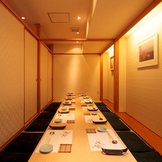 【各種ご宴会に】~20名様まで対応可能の掘りごたつの完全個室