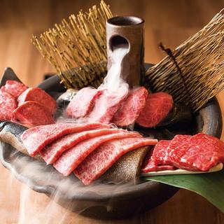 香ばしい味と香りを楽しむ絶品焼肉