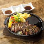 牛ステーキの香港スタイル