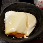 清修庵 - 最初はだし醤油