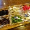 華麗亭 - 料理写真:まず運ばれてくる6種