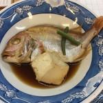 海の幸 磯の坊 - 連子鯛の煮付け