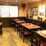 広東菜館 青龍 - 二階でいただきました(2018.4.25)