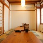 もみじ茶屋 - 2階座敷個室10人用プライベート宴会にご利用ください!