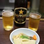 (有)旭屋酒店 - 煮物とビール