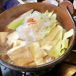 レストランささ木 - 桜鍋定食