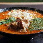 角煮ラーメングー - 角煮坦々麺