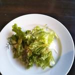 84752194 - ①ランチセットのサラダ