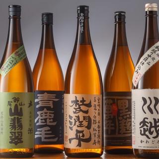 宮崎焼酎は酒類豊富。飲み方で愉しむ。
