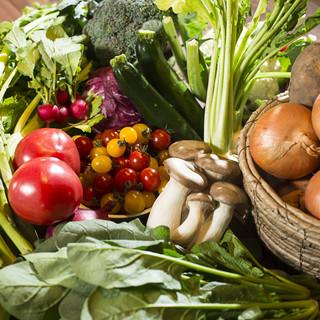 野菜は国産を使用しています!