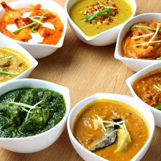 インドで10年修行を積んだ料理人仕込みの本格インド料理!