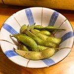 世界長蔵元直売所 - 焼き枝豆