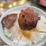 炭火焼肉 食道園 - 「焼肉ランチ」(1000円) ※平日ランチメニュー