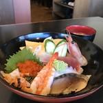 すしやの山孝 - 醍醐味丼【1,000円】