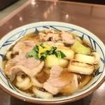 丸亀製麺 - 鴨ねぎうどん【640円】