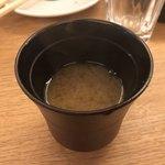 七勺日本酒・醸し肴 SEVEN - しみじみ染みる しじみ汁 です!!!