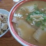 はりま - 肉入り大(800円)+肉めし(200円)