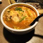 六歌苑 - ユッケジャンスープ